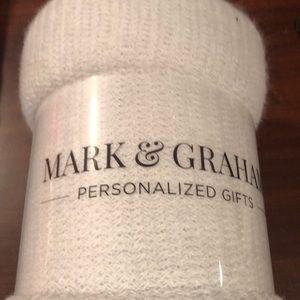 Mark & Graham throw blanket